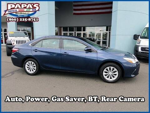 2015 Toyota Camry for sale at Papas Chrysler Dodge Jeep Ram in New Britain CT