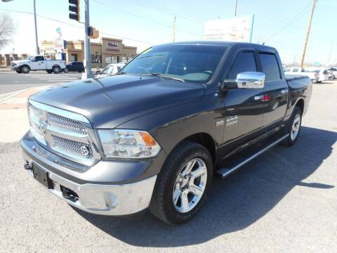 2018 RAM Ram Pickup 1500 for sale at AUGE'S SALES AND SERVICE in Belen NM