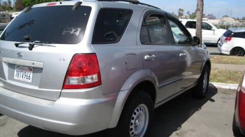 2003 Kia Sorento for sale at CABO MOTORS in Chula Vista CA