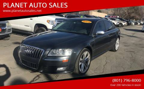 2009 Audi S8 for sale at PLANET AUTO SALES in Lindon UT