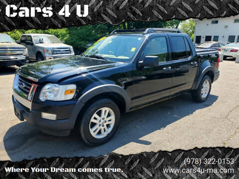 2010 Ford Explorer Sport Trac for sale at Cars 4 U in Haverhill MA