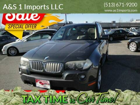 2008 BMW X3 for sale at A&S 1 Imports LLC in Cincinnati OH