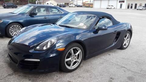 2013 Porsche Boxster for sale at RICKY'S AUTOPLEX in San Antonio TX