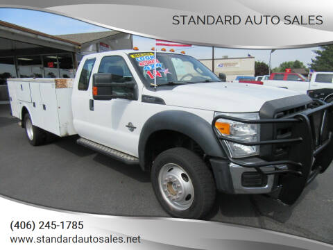 2014 Ford F-550 for sale at Standard Auto Sales in Billings MT