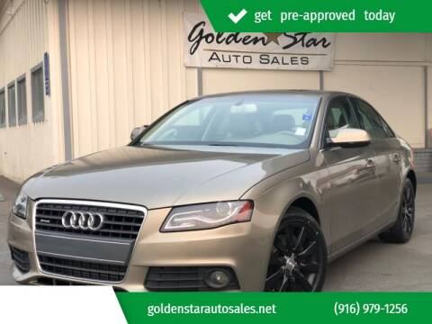2011 Audi A4 for sale at Golden Star Auto Sales in Sacramento CA