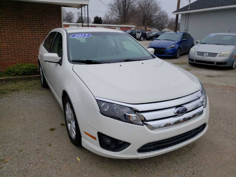 2012 Ford Fusion for sale at RAGINS AUTOPLEX in Kennett MO