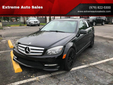 2011 Mercedes-Benz C-Class for sale at Extreme Auto Sales in Bryan TX