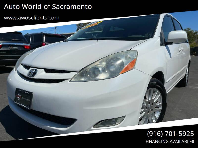 2008 Toyota Sienna for sale at Auto World of Sacramento Stockton Blvd in Sacramento CA