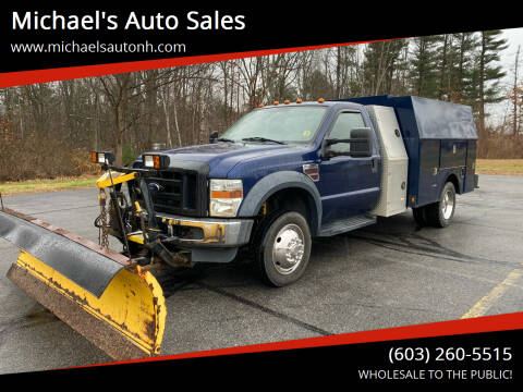 2008 Ford F-450 Super Duty for sale at Michael's Auto Sales in Derry NH