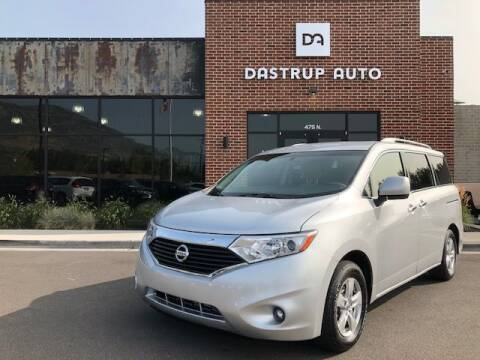 2016 Nissan Quest for sale at Dastrup Auto in Lindon UT