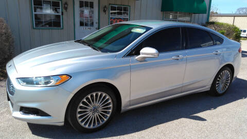 2014 Ford Fusion for sale at Haigler Motors Inc in Tyler TX