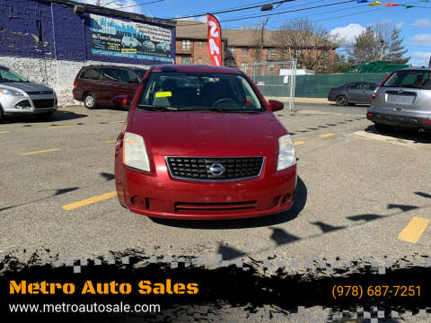 2008 Nissan Sentra for sale at Metro Auto Sales in Lawrence MA