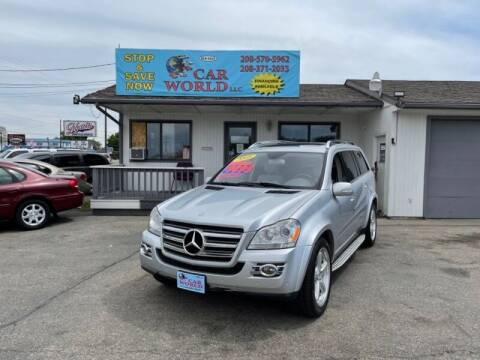 2008 Mercedes-Benz GL-Class for sale at CAR WORLD in Nampa ID