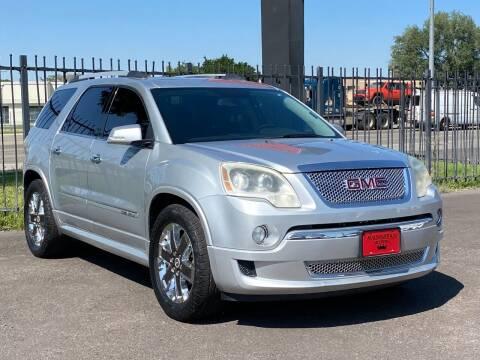 2012 GMC Acadia for sale at Avanesyan Motors in Orem UT