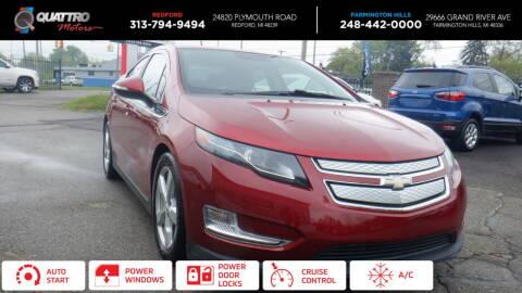 2013 Chevrolet Volt for sale at Quattro Motors 2 - 1 in Redford MI