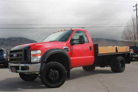 2009 Ford F-550 Super Duty for sale at REVOLUTIONARY AUTO in Lindon UT
