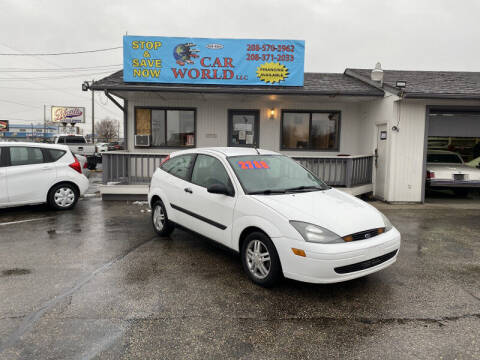 2003 Ford Focus for sale at CAR WORLD in Nampa ID
