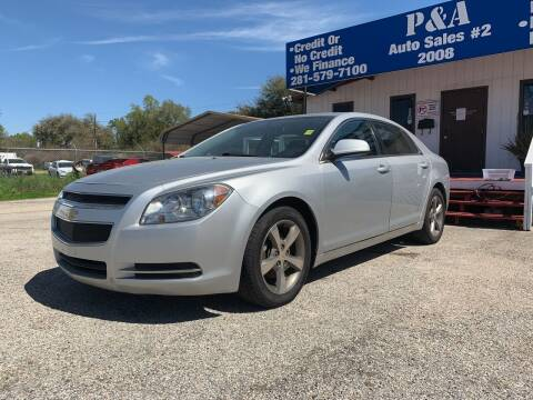 2011 Chevrolet Malibu for sale at P & A AUTO SALES in Houston TX