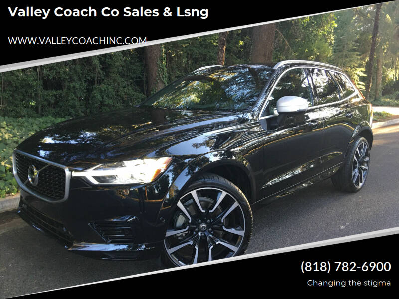 2018 Volvo XC60 for sale at Valley Coach Co Sales & Lsng in Van Nuys CA