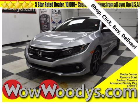 2020 Honda Civic for sale at WOODY'S AUTOMOTIVE GROUP in Chillicothe MO