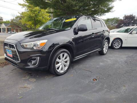 2014 Mitsubishi Outlander Sport for sale at Peter Kay Auto Sales in Alden NY