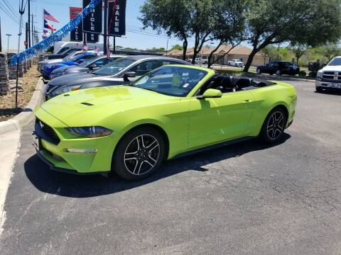 2020 Ford Mustang for sale at ON THE MOVE INC in Boerne TX