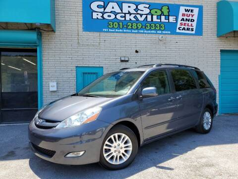 2010 Toyota Sienna for sale at Cars Of Rockville in Rockville MD