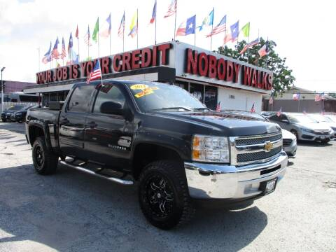 2013 Chevrolet Silverado 1500 for sale at Giant Auto Mart 2 in Houston TX