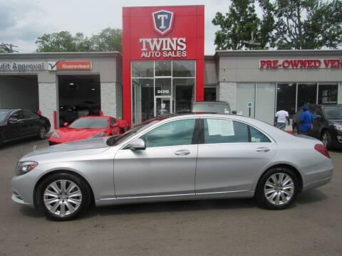2014 Mercedes-Benz S-Class for sale at Twins Auto Sales Inc in Detroit MI