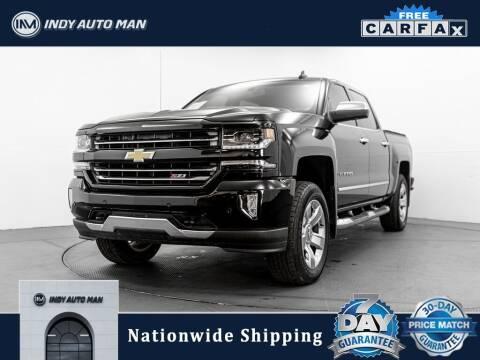 2017 Chevrolet Silverado 1500 for sale at INDY AUTO MAN in Indianapolis IN