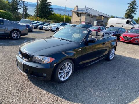 2010 BMW 1 Series for sale at KARMA AUTO SALES in Federal Way WA