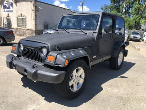 2003 Jeep Wrangler for sale at AAA Auto Wholesale in Parma OH