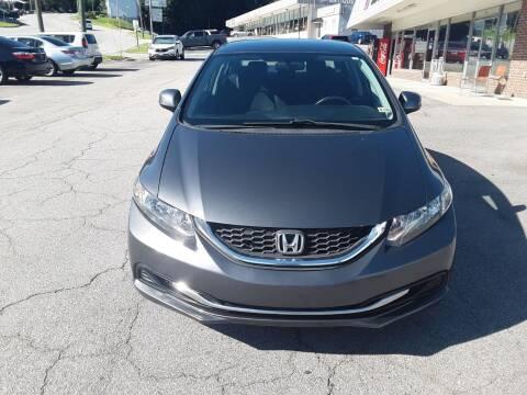 2013 Honda Civic for sale at Auto Villa in Danville VA