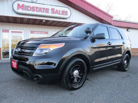 2015 Ford Explorer for sale at Midstate Sales in Foley MN