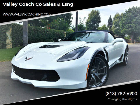 2016 Chevrolet Corvette for sale at Valley Coach Co Sales & Lsng in Van Nuys CA