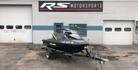 2015 Sea-Doo 215 for sale at RS Motorsports, Inc. in Canandaigua NY