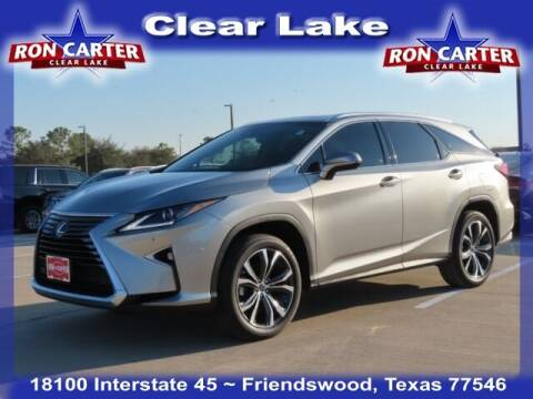 2019 Lexus RX 350L for sale at Ron Carter  Clear Lake Used Cars in Houston TX