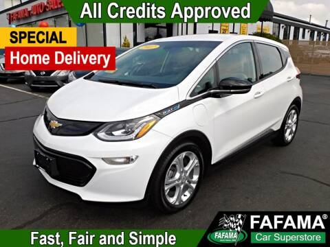2017 Chevrolet Bolt EV for sale at FAFAMA AUTO SALES Inc in Milford MA