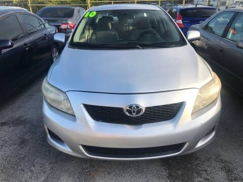 2010 Toyota Corolla for sale at Dulux Auto Sales Inc & Car Rental in Hollywood FL