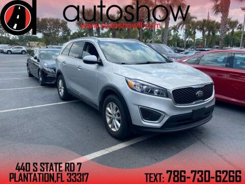 2016 Kia Sorento for sale at AUTOSHOW SALES & SERVICE in Plantation FL