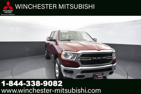 2019 RAM Ram Pickup 1500 for sale at Winchester Mitsubishi in Winchester VA