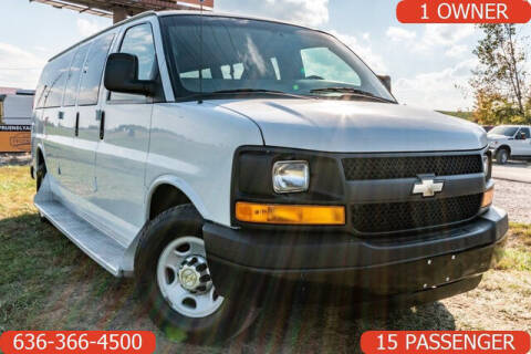 2012 Chevrolet Express Passenger for sale at Fruendly Auto Source in Moscow Mills MO