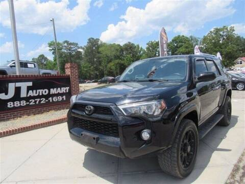 2015 Toyota 4Runner for sale at J T Auto Group in Sanford NC