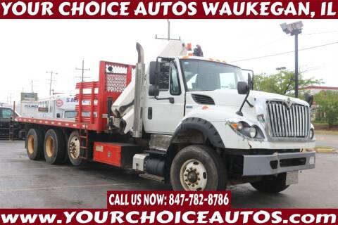 2012 International WorkStar 7600 for sale at Your Choice Autos - Waukegan in Waukegan IL