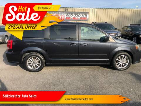 2014 Dodge Grand Caravan for sale at Stikeleather Auto Sales in Taylorsville NC