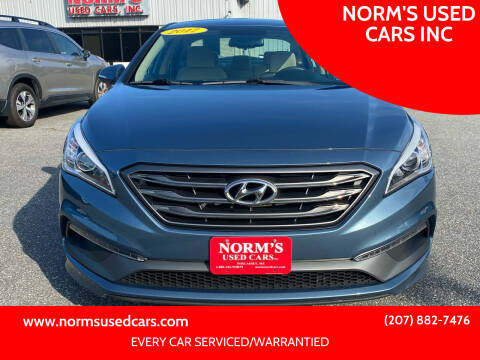 2017 Hyundai Sonata for sale at NORM'S USED CARS INC in Wiscasset ME