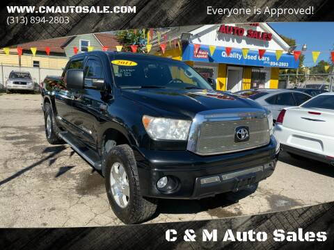 2011 Toyota Tundra for sale at C & M Auto Sales in Detroit MI