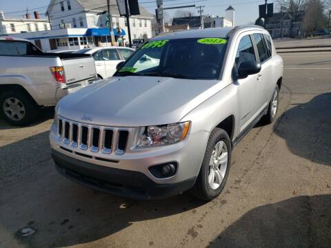 2013 Jeep Compass for sale at TC Auto Repair and Sales Inc in Abington MA