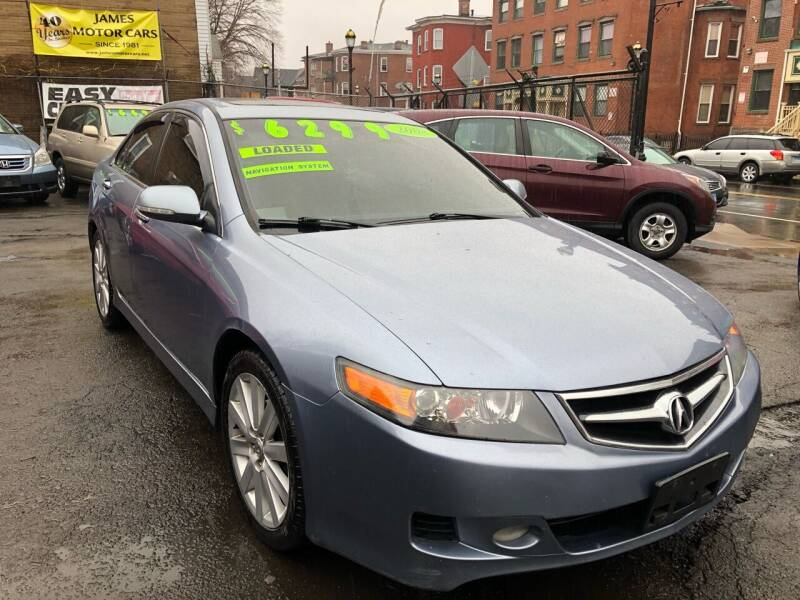 2008 Acura TSX for sale at James Motor Cars in Hartford CT