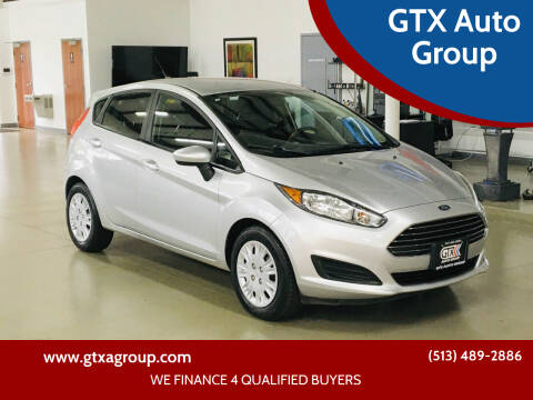 2016 Ford Fiesta for sale at GTX Auto Group in West Chester OH